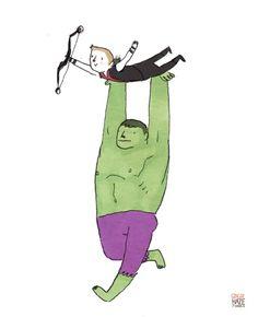 Illustrator Humorously Reimagines Scenes Of 'The Avengers'