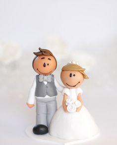 Mini figurine de mariage Aurore DISPONIBLE par TheLittleMandarine