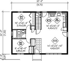 - 80321PM | Ranch, Canadian, Metric, Narrow Lot, 1st Floor Master Suite, CAD Available, PDF | Architectural Designs
