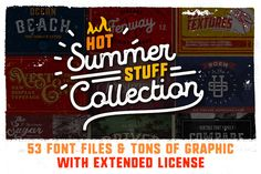 90% OFF PACK with Extended License by Vintage Voyage Design Co. on @creativemarket