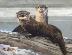 Sarah Woods. Otter Grays