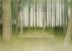 Post image 2/3 by Susanne Gottberg 1994. Oil 65x92cm