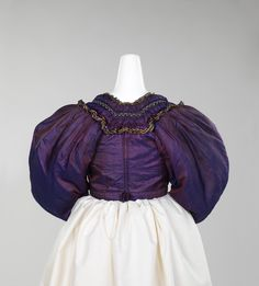 1830 Bodice | probably German | The Metropolitan Museum of Art