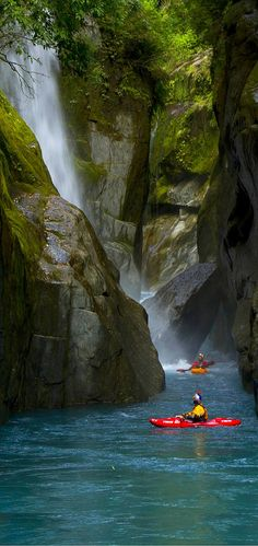 Kayaking, Kaituna RIver, near Rotorua, North Island, New Zealand..Used to live just down the road from here....