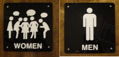 Finally, someone made an accurate bathroom sign!