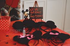 Mickey ears for photos or favors?