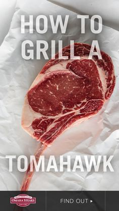 How to grill a perfect tomahawk ribeye steak on your gas or charcoal grill with indirect grilling. The tomahawk steak is a 36-ounce ribeye with a long 7-inch bone resembling an axe handle. This huge steak is well-marbled with a rich, buttery taste and tender texture. The marbling will melt into the steak as it cooks, resulting in a juicy, tender steak with incredible beef flavor. Be a BBQ master and cook a perfect tomahawk steak with our grilling guide. Enjoy caveman style or share with…