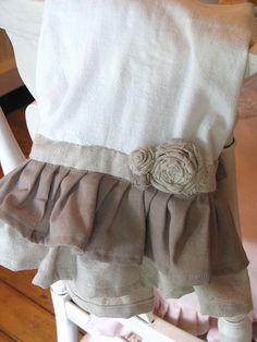 Kitchen Towels. Handmade by Linda of Tattered Bits