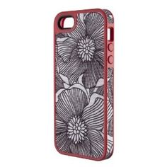 Speck Products FabShell Fabric-Covered Case for iPhone 5 & 5S – Retail Packaging – FreshBloom Coral Pink/Black: Wedding gift