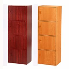 Wooden Storage Cabinet Kitchen Pantry Cupboard Office Organizer