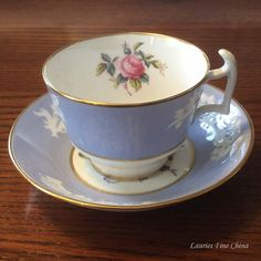 Spode Copeland MARITIME ROSE R4118 Bone China Tea Cup and
