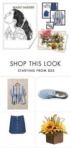 """""""all ruffled and ready for fun"""" by peeweevaaz ❤ liked on Polyvore featuring Vans and ruffles"""