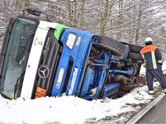 Unfall mit Tank-Lkw