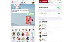 #Comunicación #Telegram Telegram suma stickers destacados, almacenamiento personal y otras novedades