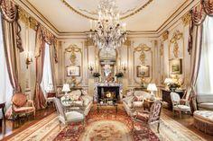 Wonderful French salon.