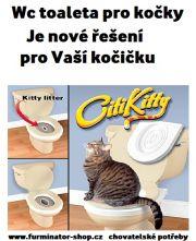 Wc toaleta pro kočky