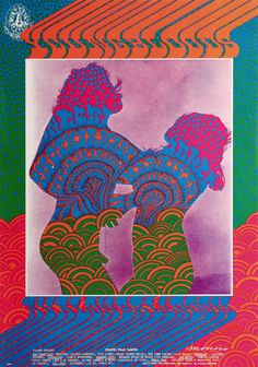 Victor Moscoso Psychedelic Music Poster Design | Youngbloods at the Avalon Ballroom 9/15-17/67