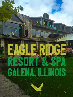 Midwest family getaway: Eagle Ridge Resort & Spa in Galena, Illinois Spa Weekend, Weekend Trips, Weekend Getaways, Girls Weekend, Long Weekend, New Travel, Travel Usa, Family Travel, Travel Tips