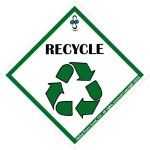 RECYCLE Peace Badge | $2.99 | Global Peace Scout @ThePeaceScout | #PeaceBadge #PeaceScout #recycle