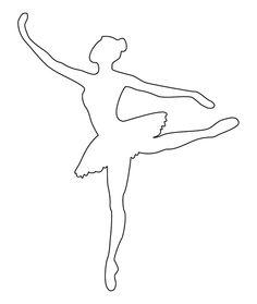 трафарет балерин - Пошук Google