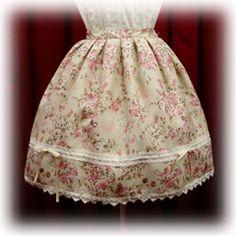 Baby the Stars Shine Bright / Skirt / Teddy-chan Bouquet Print Gobelin Skirt