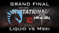 Liquid vs Mineski Grand Final Starladder 2017 Minor Highlights Dota 2 - ...