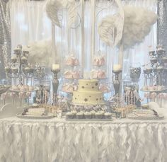 Sweet Dreams by Dana's Baby Shower / Angel / Heaven - Heaven Sent Baby shower at Catch My Party Cloud Baby Shower Theme, Angel Baby Shower, Baby Girl Shower Themes, Baby Shower Winter, Baby Shower Balloons, Baby Boy Shower, Shower Party, Baby Shower Parties, Shower Favors
