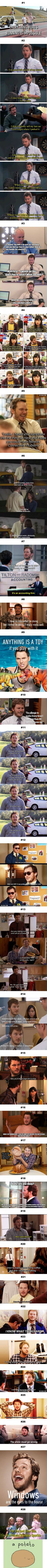 Happy Birthday Chris Pratt! 28 Times Andy In 'Parks & Recreation' Was All Of Us