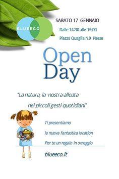 Open Day Blueeco Sabato 17 gennaio