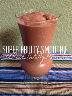 about Smoothie Recipes on Pinterest | Smoothie Recipes, Smoothie ...