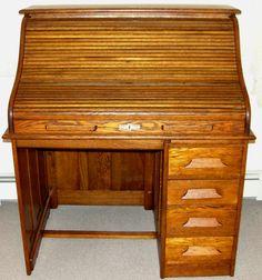 1000 Images About Roll Top Desk Antique Desk On Pinterest