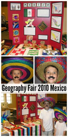Geography Fair Prep for Mexico - Walking by the Way Fair Projects, School Projects, Projects For Kids, Spanish Projects, Project Ideas, Culture Day, Mexico Culture, Mexico For Kids, Mexico Country