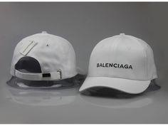 Men s   Women s Balenciaga Classic Balenciaga Embroidered Logo Baseball Hat  - White   Black deac2d2dc1d4