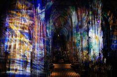 Victoria Coeln's Chromotop in the Stephansdom, Vienna -a Light World Tour pick by Paula Rainha-http://bit.ly/SaMbsy