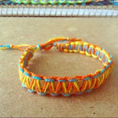 Boho Handmade Macrame Bracelet Handmade macrame/friendship bracelet by me. Looks nice worn on either side. Discount on bundles and get one FREE with purchase !!! ⓢⓘⓩⓔ: Fits up to 10 1/2 inches around wrist Jewelry Bracelets