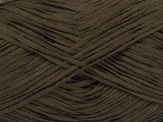 Fettuccia Fine Dark Khaki at NGS NET Yarn Store