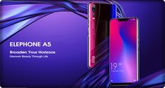 Elephone brings Elephone - a smartphone that is equipped with five cameras in toatal; Triple cameras on the rear and Dual one on the front. A5, Cameras, Phones, Smartphone, Bring It On, Camera, Camera Phone