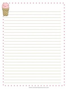 Browse over 80 educational resources created by Not So Wimpy Resources LLC in the official Teachers Pay Teachers store. Summer Journal, Printable Lined Paper, Wimpy, My Diary, Writing Lessons, Teacher Organization, Beginning Of School, Note Paper, Literacy Centers