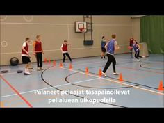 Jatkuva polttopallo & sovellukset - YouTube Pe Games, Team Building, Physical Education, Physics, Athlete, Basketball Court, Teaching, Tv, School