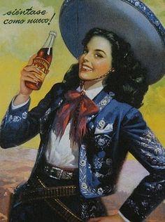 Mexican cola ad
