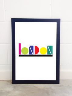 East End Prints - London by Native State, £19.95 (http://www.eastendprints.co.uk/products/london-by-native-state.html)