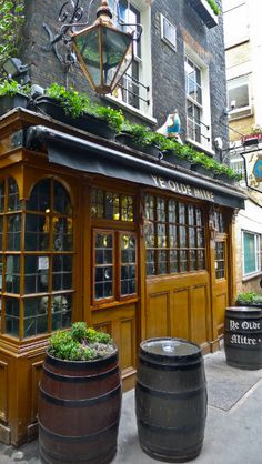 Ye Olde Mitre - One very special British pub.