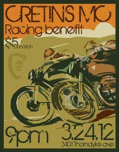 Saturday March 24th -- Cretins Racing Benefit