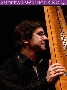 Andrew Lawrence-King @ Igrexa Santa María Nai - Ourense musica concierto concerto arpa VI FESTIVAL PORTICO DO PARAISO
