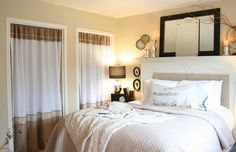 The Old Painted Cottage: Master Bedroom