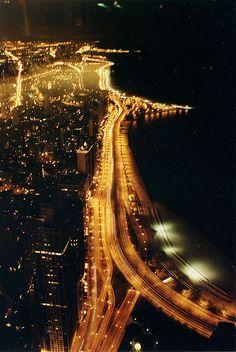 #skyview #city #citylights #lights #night #sky #nature #land #buildings #urban #photography