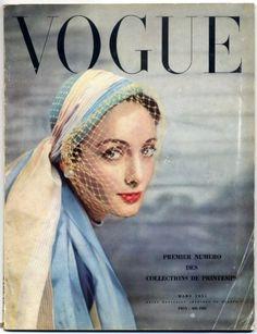 Vogue Paris 1951 March Spring Collections Hats