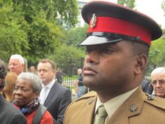 AUDIO: Relatives of Captain Frederick Holmes VC are joined by  Sergeant Johnson Beharry and London Division to honour Captain Frederick Holmes VC  100 years to the day he was awarded the military's highest award.