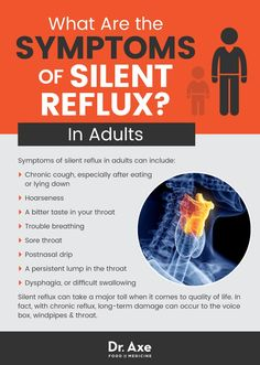 12 Natural Ways to Relieve Silent Reflux Symptoms By Rachael Link, MS, RD Many people are pretty familiar with gastroesophageal reflux, or GERD. And they probably know about the burning heartbu. Medication For Acid Reflux, Acid Reflux Cure, Acid Reflux Treatment, Acid Reflux Remedies, Acid Reflux Relief, Asthma, Silent E, Gourmet, Arthritis