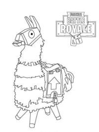 28 fortnite Llama Coloring Page in 2020 | Toy story ...